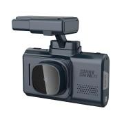 Видеорегистратор SilverStone F1 CityScanner, GPS, черно-серый
