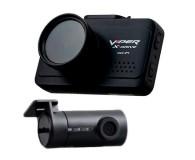 Видеорегистратор VIPER X-Drive Wi-FI Duo c салонной камерой, 2 камеры, GPS, ГЛОНАСС, черный