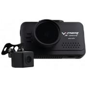 Видеорегистратор VIPER X-drive Wi-Fi Duo с задней камерой, 2 камеры, GPS, ГЛОНАСС