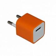 17089 Адаптер сетевой СЗУ-USB for iPhone 3G(s)/orange/1500mA