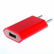 23886 Адаптер сетевой СЗУ-USB for iPhone 4/4s,1100mA(red)