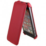 24766 Чехол Flip Activ Leather для Apple iPhone 5 red