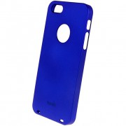 26544 Кейс пластик-Moshi Soft Touch для Apple iPhone 5 blue