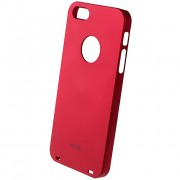 26546 Кейс пластик-Moshi Soft Touch для Apple iPhone 5 red