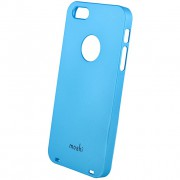 26548 Кейс пластик-Moshi Soft Touch для Apple iPhone 5 sky blue