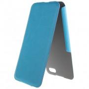 35382 Чехол Flip Brera ULTRA SLIM для Apple iPhone 5 sky blue