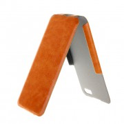 35383 Чехол Flip Brera ULTRA SLIM для Apple iPhone 5 orange
