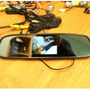 RMBT-735 зеркало с монитором 3`5