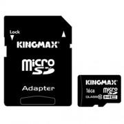 microSD на 16Gb,Class10 Kingmax