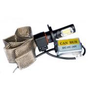Комплект LED ламп головного свет Н4БИ гибкий кулер